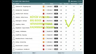 SOCCER BETTING TIPS TODAY, 08/12/2019 GOALOO, İDDAA TAHMİNLERİ,NOWGOAL,2/1 HTFT