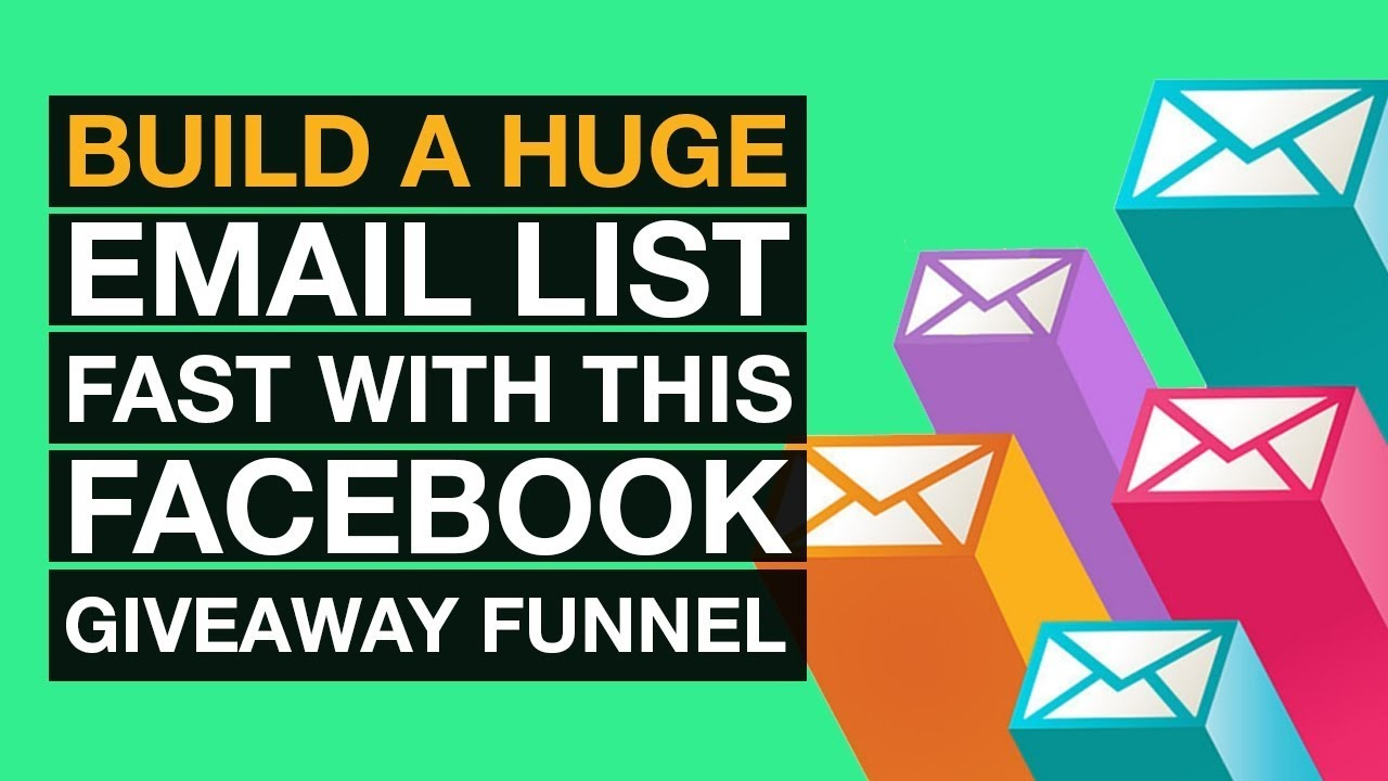 How to Build a Email List Fast with This Facebook Giveaway Funnel - The  Bren Hammel Class