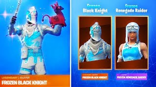 The FROZEN LEGENDS PACK 2 in Fortnite Battle Royale!?