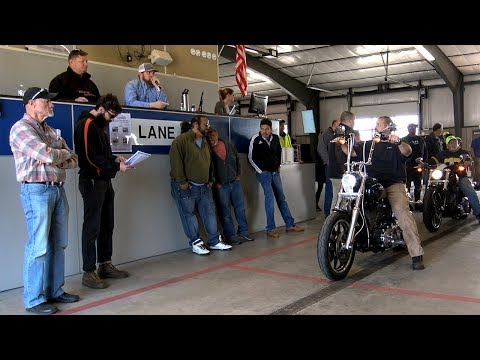 Trying to spend 100k at a bike auction