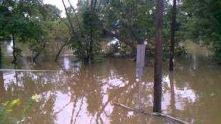 Tropical storm Lee floods wallkill river New paltz.....PT1