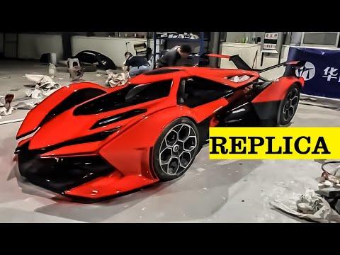 3   Homemade Lamborghini V12 Vision GT   Car Painting Process.