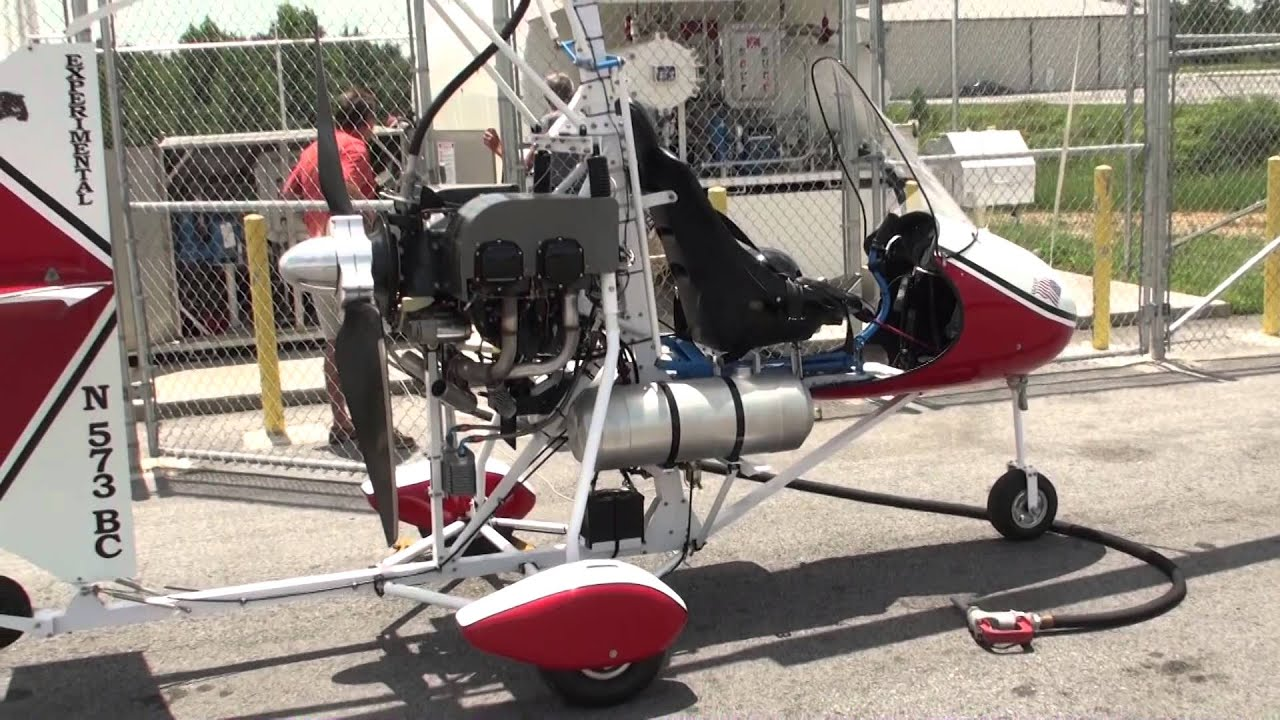 Gyroplane with Lycoming Engine - YouTube