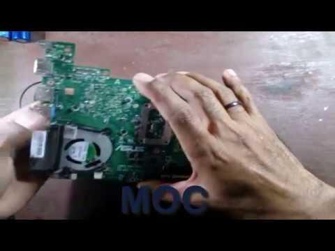 Cara Mudah Memperbaiki Laptop Notebook Asus X200ca Yang Mati Total