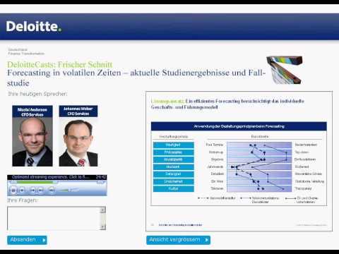 Finance Transformation - Forecasting in volatile Zeiten