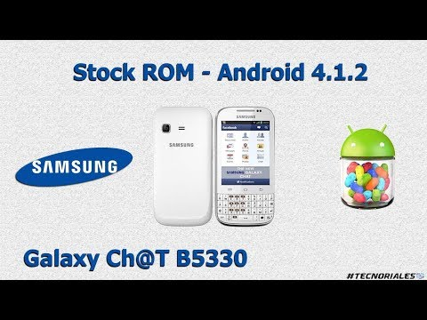 Samsung Galaxy Chat: Stock ROM + Odin + Drivers