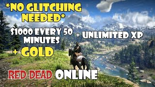 SOLO UNLIMITED MONEY AND XP - RED DEAD ONLINE - RED DEAD REDEMPTION 2 ONLINE - RDR2 ONLINE
