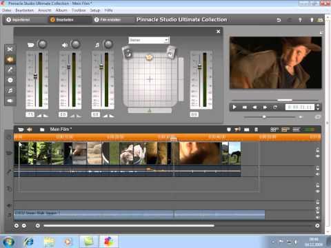 Audiobearbeitung in Pinnacle Studio 14 und 15