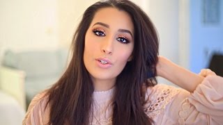 ROSEGOLD GLITTER MAKE UP TUTORIAL | Dounia Slimani