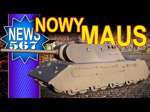 Nowy MAUS 8 tier premium? - NEWS - World of Tanks