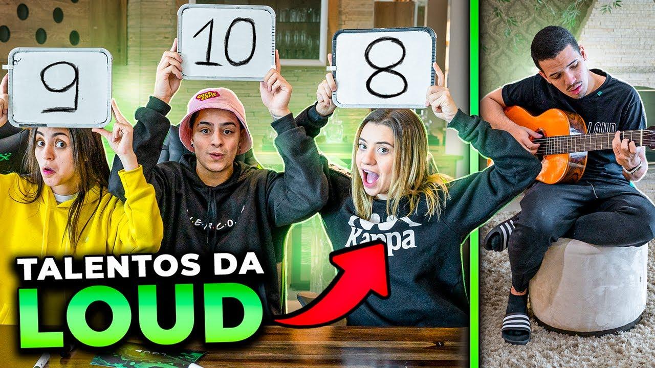 FIZEMOS UM SHOW DE TALENTOS NA MANSÃO LOUD!!