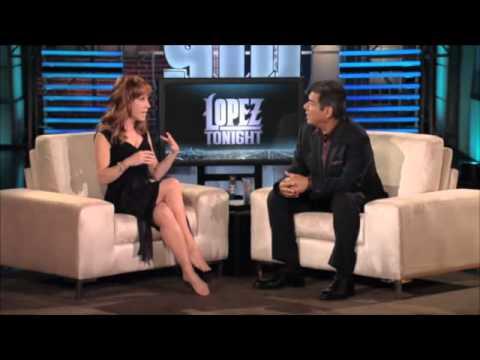 Kathy Griffin at Lopez Tonight pt2