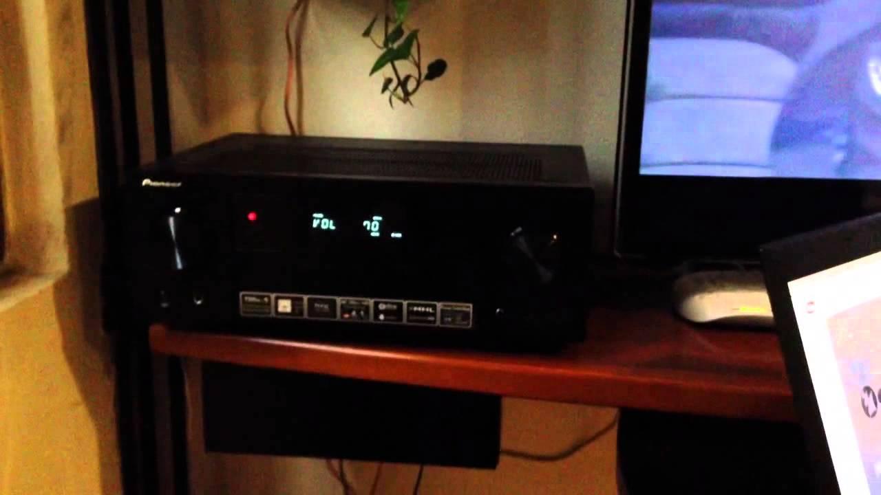 sound system new test pioneer vsx 528 av receiver. Black Bedroom Furniture Sets. Home Design Ideas