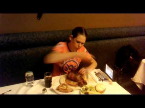 Molly Schuyler Vs. Sayler's 72 oz Steak Record - New World Record