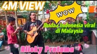 Riisky Pratama dari Indonesia dapat sambutan luarbiasa dari penonton Malaysia..Mencari Alasan-Exist