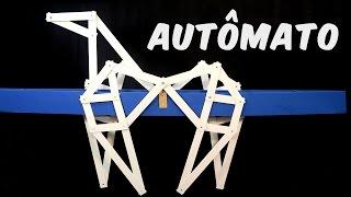 Como Fazer Um AutÔmato, O Avô Dos Robôs  Brinquedo + ExperiÊncia
