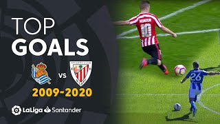 TOP GOALS Real Sociedad vs Athletic Club 2009/2020