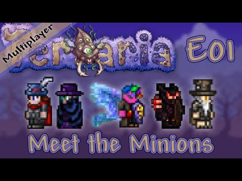 Terraria 1.3 Multiplayer Expert Mode - Ep. 01 - Meet the Minions