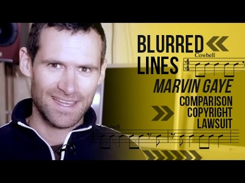 Blurred Lines Marvin Gaye Comparison Copyright Lawsuit