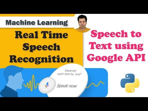 Real Time Speech Recognition | Speech To Text Using Google API | Speech Recognition Noise Reduction