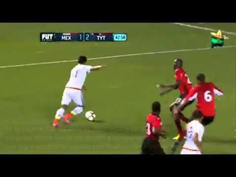 Carlos Vela Falso 9 contra Trinidad y Tobago Fecha FIFA 2015