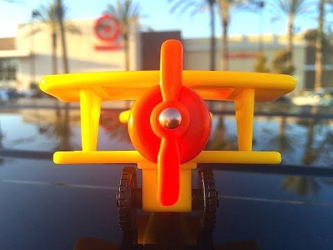 Thomas The Tank Engine TIGER MOTH Character Friday Toy Train Review Mattel Fisher Price