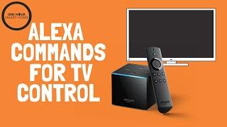 Alexa Commands: Fire TV Cube