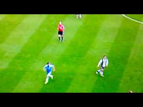 Juan Mata amazing skill Vs Newcastle