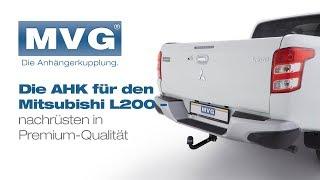 Für Mitsubishi L200 Pick Up Typ K60T Anhängerkupplung starr top Auto Hak