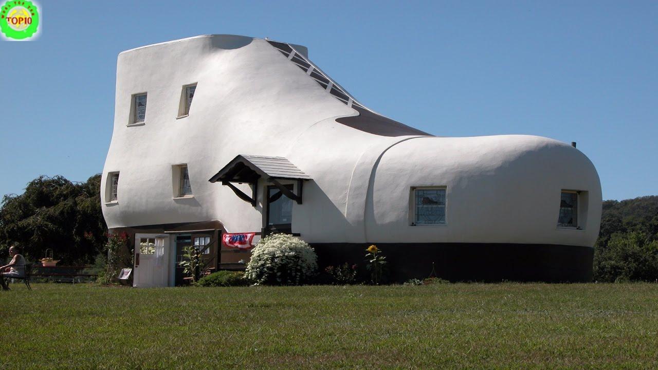 Houses top 10 weirdest The 10