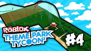 Theme Park Tycoon 2 #4-ROLLER COASTER assustador (Roblox Theme Park Tycoon 2)