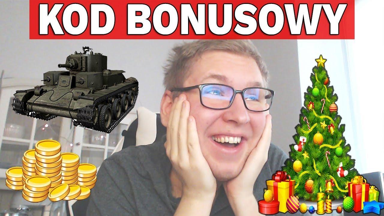 KOD BONUSOWY i EVENT ŚWIĄTECZNY – World of Tanks