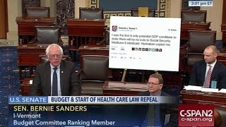 Bernie Holds Trump Accountable In Awesome Senate Speech
