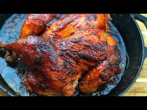HOW TO MAKE : SWEET N TANGY OVEN ROASTED BBQ CHICKEN!!!