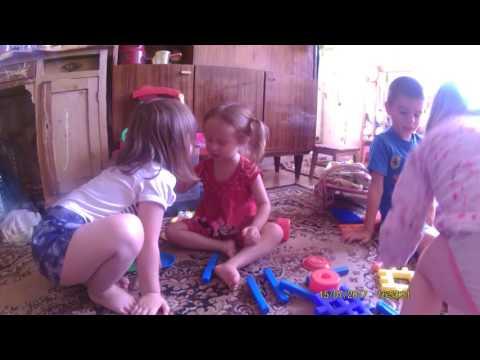 Мой день с пятирми детьми,из которых двое моих племянников
