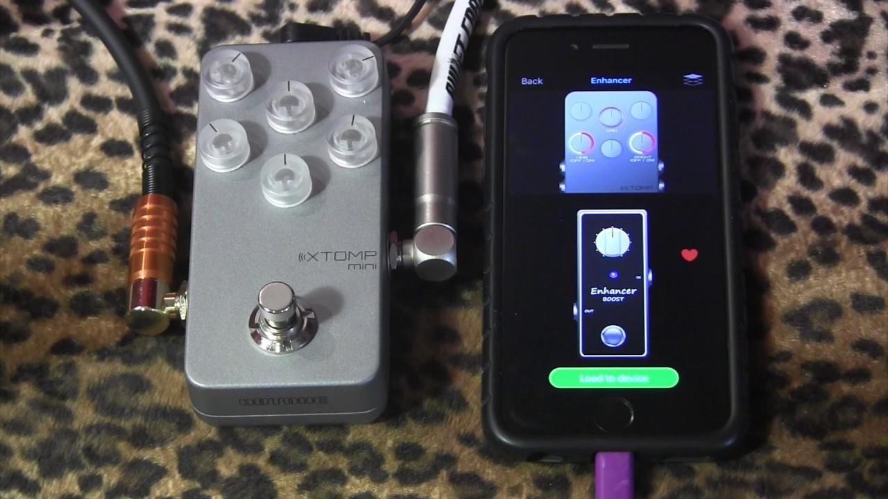 Hotone Xtomp Mini Bluetooth Multi Effect Pedal Amp Pedal