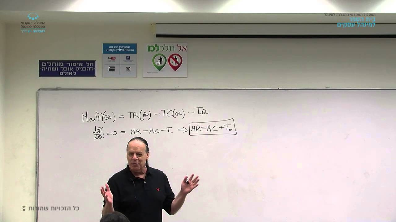 """קורס """"תורת היצרן"""" - שיעור 4 / ד""""ר אורי וייס"""