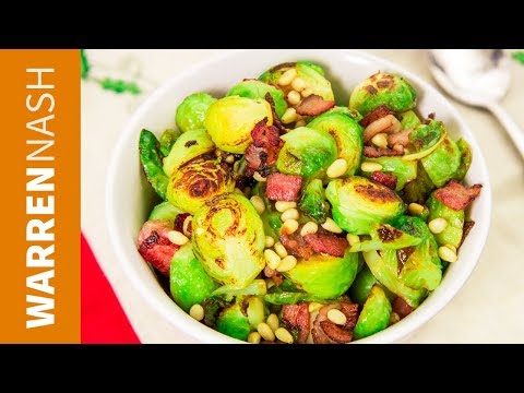 3 Ways to cook Brussel Sprouts Fried, Steamed & Boiled Recipes by Warren Nash