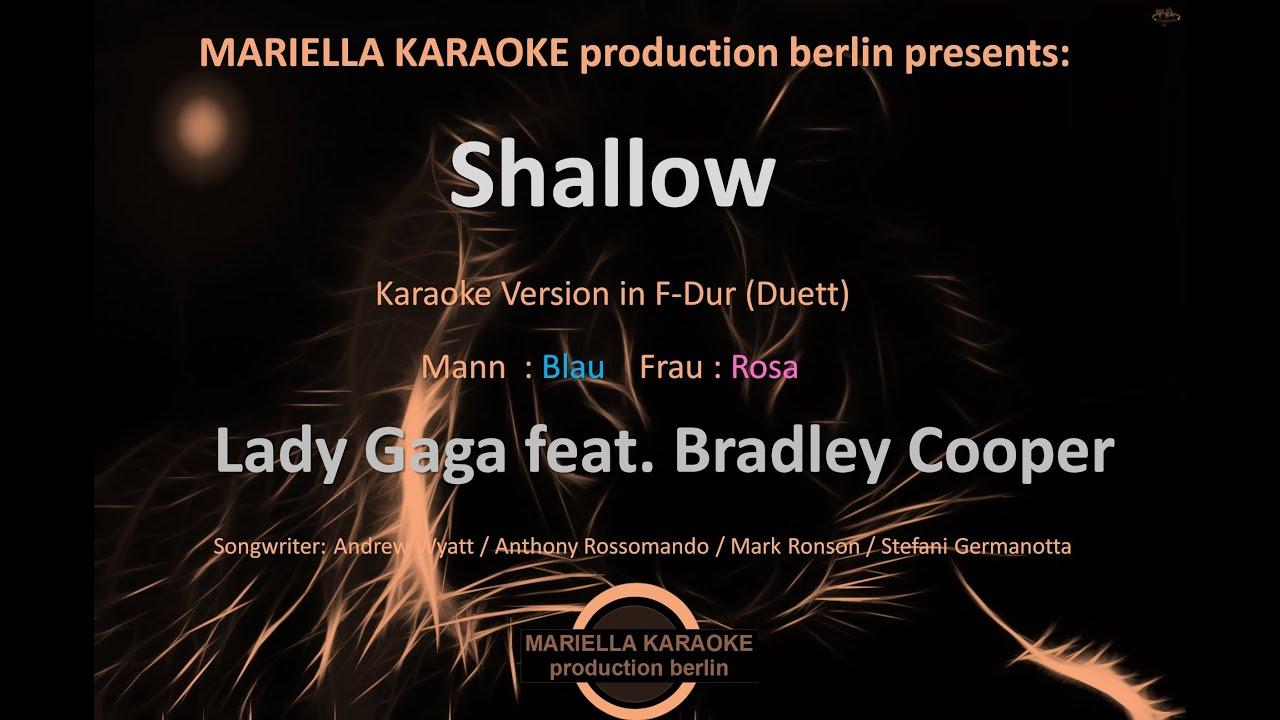 Shallow karaoke