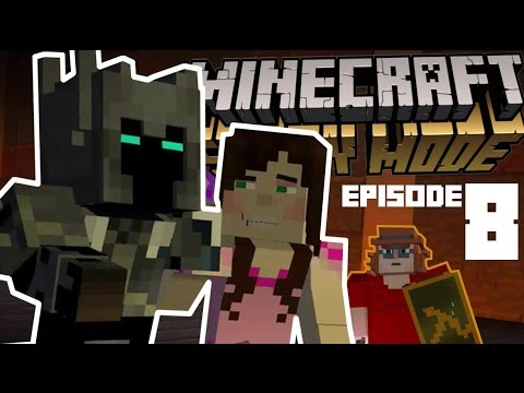 41c58007 PopularMMOs & GamingWithJen in Minecraft Story Mode Episode 8 w/ GABEN HL2