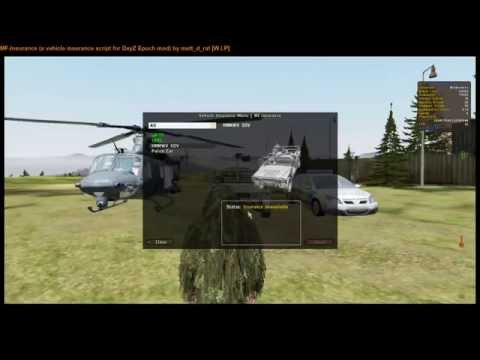 MF-Insurance (a vehicle insurance script for DayZ Epoch mod) [W.I.P Preview]
