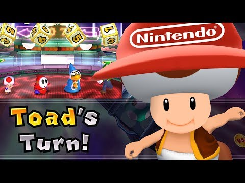 Mario Party 9 Solo Mode Toad Bowser Station Part 6 389