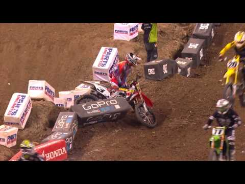 Race Day LIVE - 2015 Indianapolis Round 11 - 450SX Highlights