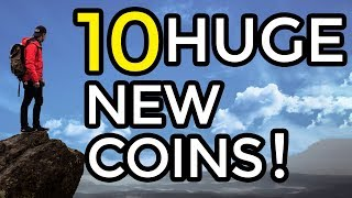 10 SMALL CAP COINS FOR HUGE GAINS!