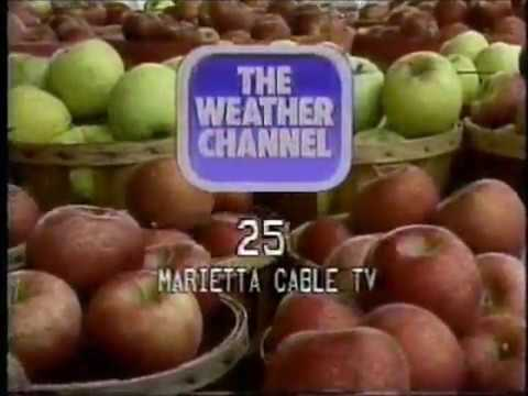 History of The Weather Channel Logos