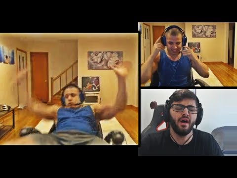TYLER1 FALLS OFF HIS CHAIR ON HIS STREAM - STILL ALPHA AF | YASSUO ON TYLER1'S BEHAVIOURS | LOL