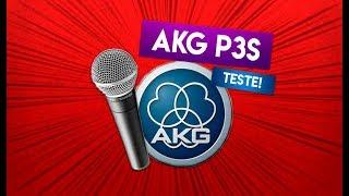 UNBOXING & TESTE - AKG P3S Perception Live