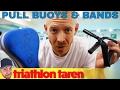 Triathlon Swim Training With A Pull Buoy & Band