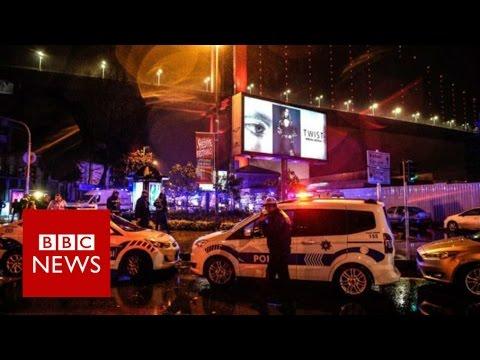 Istanbul new year Reina nightclub attack 'leaves 39 dead' - BBC News