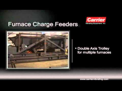Furnace Charge Feeders | Carrier Vibrating Equipment - YouTube
